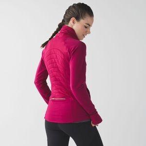 lululemon athletica Jackets & Coats - lululemon Fleece Out Jacket | Berry Rumble